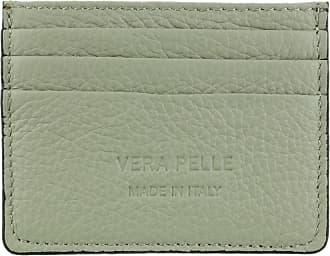 Girly HandBags Girly HandBags Plain Genuine Leather Card Holder - Light Grey