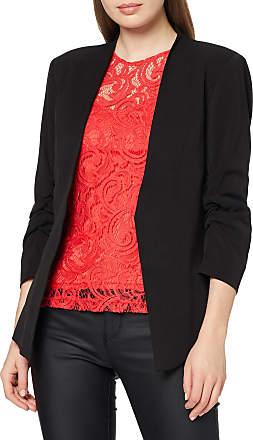Vila Womens VIHER 3/4 NEW BLAZER-NOOS Blazer, Black, 38 (Manufacturer size: Medium)