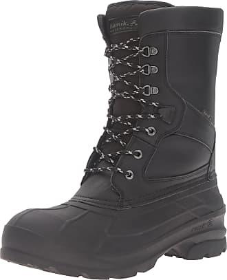 kamik Mens Nationpro Snow Boot, Black, 11 UK