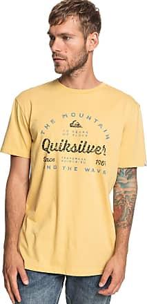 Quiksilver Drop in Drop Out - T-Shirt - Men - XXL - Yellow