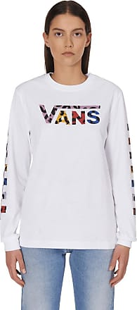 Vans Vans Wyld tangle long sleeves t-shirt WHITE XS