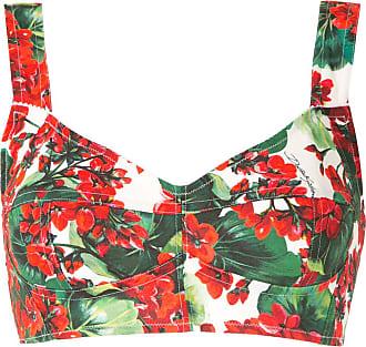Dolce & Gabbana Top cropped estampado