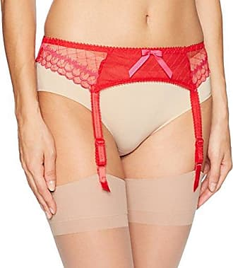 Freya Womens Plus Size Pulse Suspender, Scarlet, XL