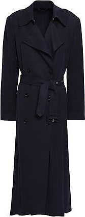 Filippa K Filippa K Woman Twill Trench Coat Navy Size XL