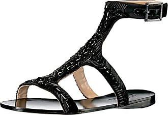 Imagine Vince Camuto Womens Im-Reid Dress Sandal, Black, 5.5 M US