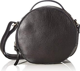 Pieces Pcnickie Leather Cross Body Fc, Womens Cross-Body Bag, Black, 6x19x20 cm (B x H T)