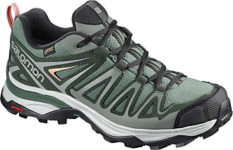 0572ff5ec20f Salomon Womenss X Ultra 3 Prime GTX W Low Rise Hiking Boots Balsam  Green Darkest
