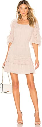 Rebecca Taylor Block Vine Dress in White