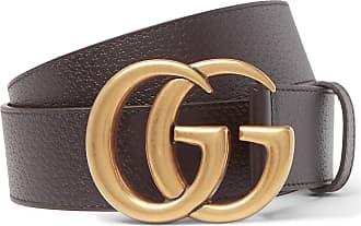 b3cd3c2f27434e Gucci 4cm Dark-brown Full-grain Leather Belt - Brown