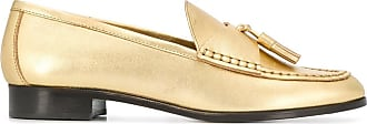 Sandro metallic tassel loafer - GOLD