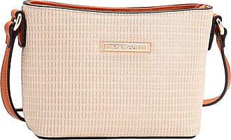 04682e5ee Chenson Bolsa Chenson Transversal Relevo Fibras Naturais Bege - Bege