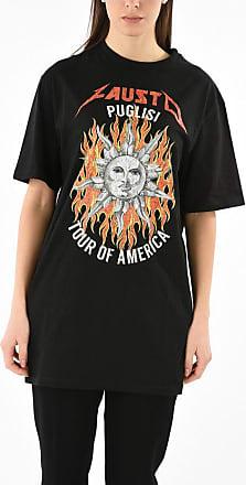 FAUSTO PUGLISI T-shirt Oversize Stampata taglia L