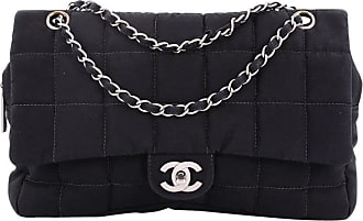 5415338b912d Chanel Chocolate Bar Camera Flap Bag Quilted Nylon Medium