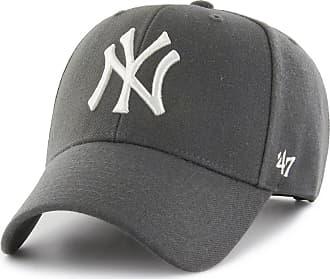 4df81b0327f2b 47 Brand New York Yankees MVP Adjustable Baseball Cap Charcoal Grey