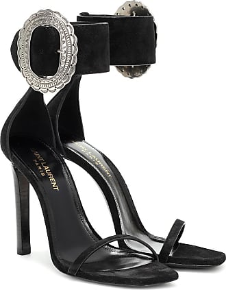 Saint Laurent Joplin 100 suede sandals