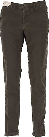 Incotex Pants for Men On Sale, Mud, Cotton, 2017, 35