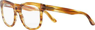 Tom Ford Eyewear Armação de Óculos Retangular Amarela - Mulher - Tartaruga - Único US