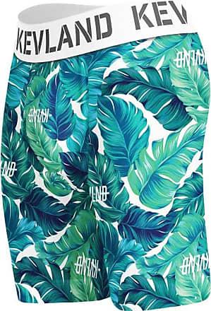 Kevland Underwear cueca boxer long leg kevland folhagem verde (1, G)