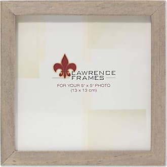 Lawrence Frames 5x5 Gray Wood Gallery Collection Picture Frame