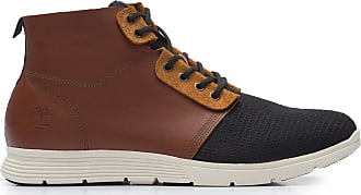 Timberland BOTA MASCULINA KILLINGTON FABRIC AND LEATHER CHUKKA - MARROM