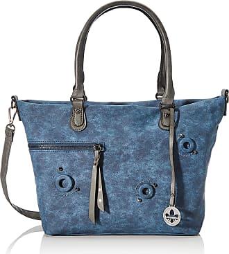 Rieker Womens Handtasche H1335 Handbag, Blue (Pacific/Smoke), 260x105x370 centimeters (B x H x T)