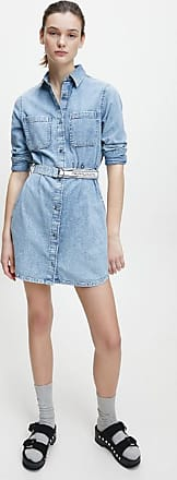 Calvin Klein Abiti Di Jeans Donna DENIM