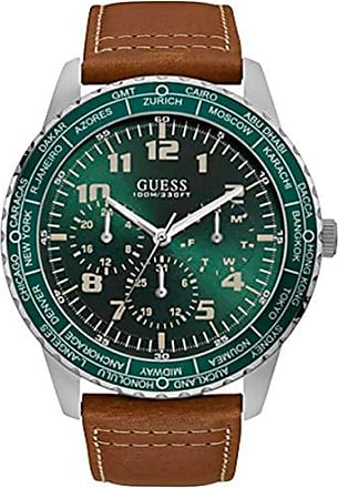 Guess Relógio Masculino Guess 92729G0GSNC1 Couro Visor Verde