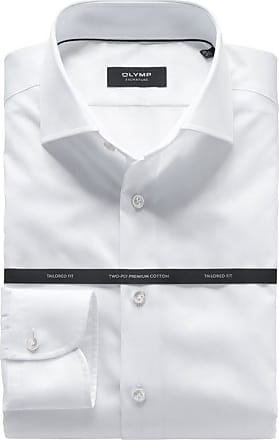 Olymp SIGNATURE Hemd, tailored fit, Extra langer Arm, Weiß, 38