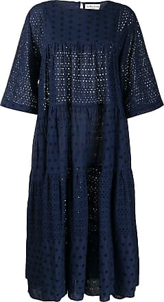Ymc You Must Create broderie anglaise maxi dress - Blue