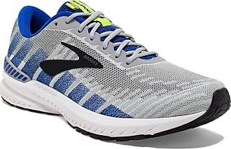 Brooks Mens Ravenna 10 Running Shoes, Grey (Alloy/Blue/Nightlife 082), 10.5 UK