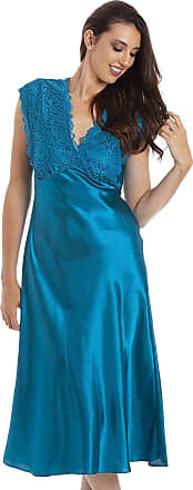 Camille Womens Satin Chemises 22/24 Teal