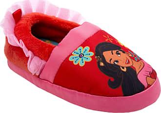 Disney Disney Girls Elena Slipper, Red, 5 Medium US Toddler