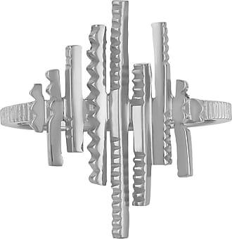 Zoe & Morgan Galaxia Silberring - sterling silver | silver | small - Silver/Silver