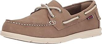 2d068721b4294 Sebago Womens Litesides Two Eye Boat Shoe, Dark Taupe Leather, 5 B US