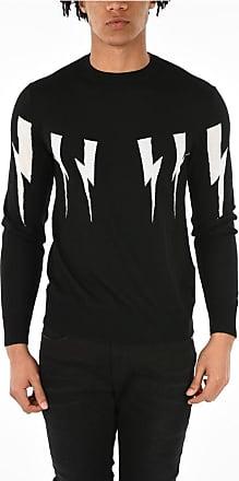 Neil Barrett Slim Fit THUNDERBOLT Sweater size S