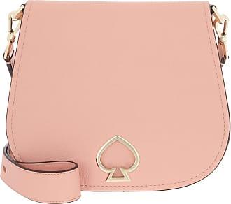 Kate Spade New York Suzy Large Saddle Bag Cosmetic Pink Umhängetasche rosa