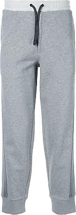 Qasimi Sporthose mit seitlichen Einsätzen - Grau