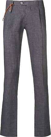 Berwich Calça de alfaiataria slim - Cinza
