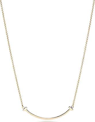 Tiffany & Co. Tiffany T smile pendant in 18k gold, small