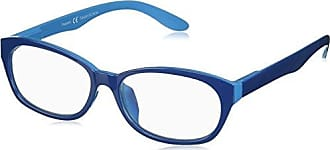 Peepers Womens Good Morning, Charlie 2366200 Oval Reading Glasses, Blue, 2