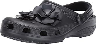Crocs Unisex Adults Classic Vivid Blooms Clog U, Black (Black 001), 6/7 UK