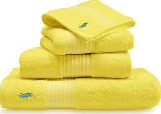 Ralph Lauren Home Player Towel - Slicker Yellow - Guest Towel