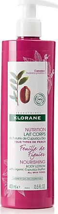 Klorane Fig Leaf Body Lotion With Cupuaçu Butter, 400ml - Colorless