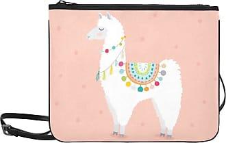 Yushg Nice Fashion Bags Cute Llama Cartoon Baby Lama Fashion Adjustable Shoulder Strap Clutch Bag Zipper For Women Girls Ladies Handbag Accessories Bags For