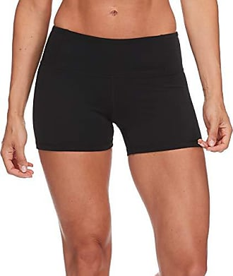 Body Glove Active Womens GET Shorty Performance FIT Activewear Short, Black, X-Small