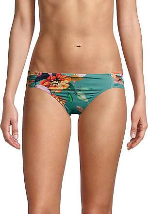 MSRP $61 La Blanca Hipster Bikini Swimsuit Bottom Black////Spectrum Size 12