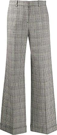 Paul Smith Calça pantalona xadrez - Preto