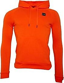 Under Armour brushback fleece overhead hoodie with ColdGear technology. 1320736-856