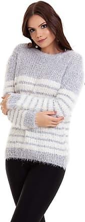Kinara Suéter Tricot Pelinhos Listrado-P
