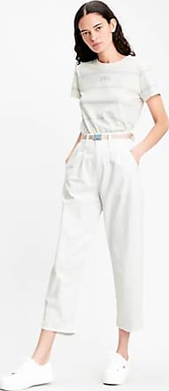 Levi's Pleated Balloon Trousers - White